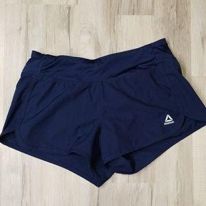 Navy Reebok Running shorts